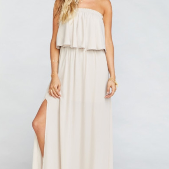 37fc8ff634c Hacienda Maxi Dress (Show Me the Ring Crisp). M 5a9c45aa739d48b8fabef7b9